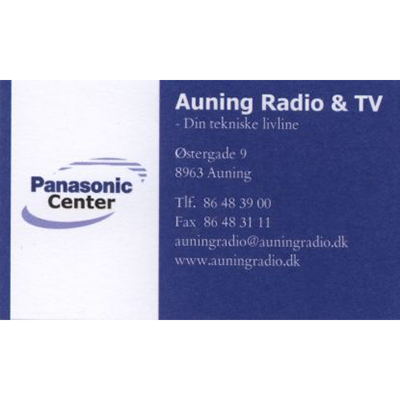 Auning Radio Tv